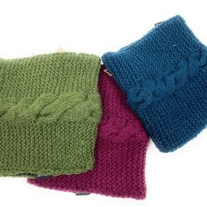 Woolen neck warmers